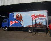 Case Adesivagem de Frota - Caminhão Toddynho